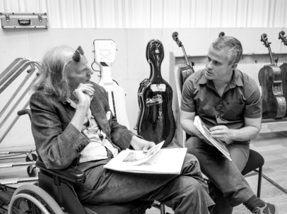 Sir John Tavener with BBC Phil, MIF 2013